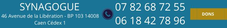 numero-de-telephone-synagogue-de-caen